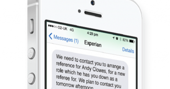 SMS Messages by Mobile to improve call centre efficiency