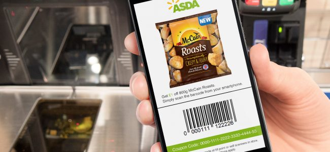Asda and McCain coupon trial with Weve and Eagle Eye uses SMS