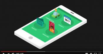 Mobile Engagement for Charities Video Banner