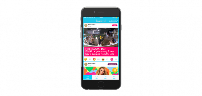 ITV's Love Island companion app features real-time retail