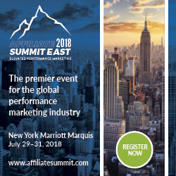 Affiliate Summit East 2018 Ad