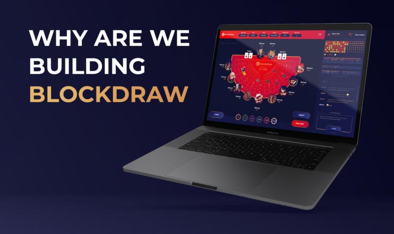 BLOCKDRAW leverages blockchain benefits to make online