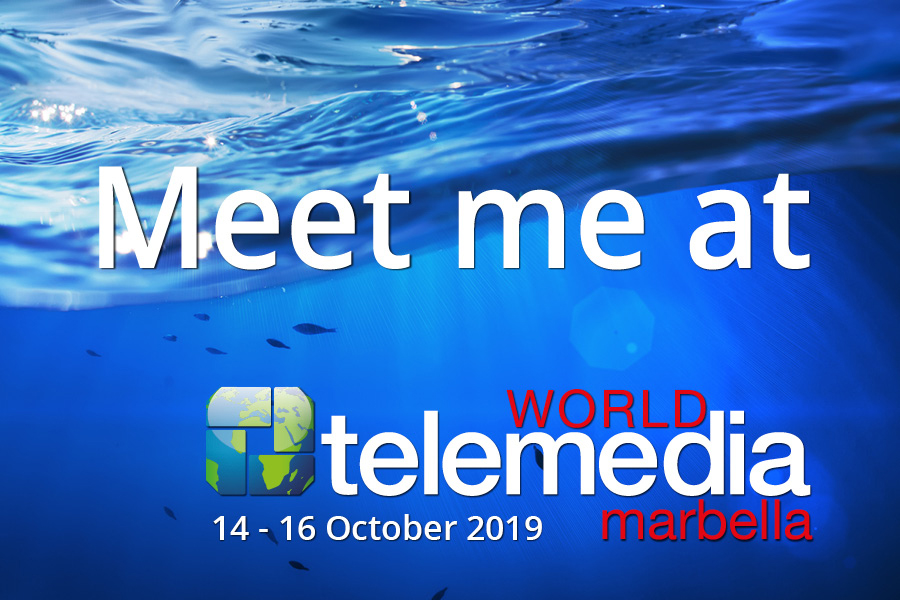 Meet me at World Telemedia 2019