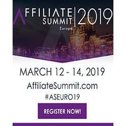 Affiliate Summit 2019 Ad