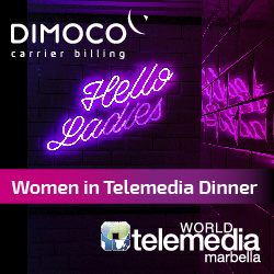 DIMOCO - Women in Telemedia - Private Dinner Ad