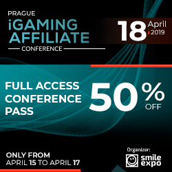 iGaming Affiliate Conference 18th April 2019 Ad