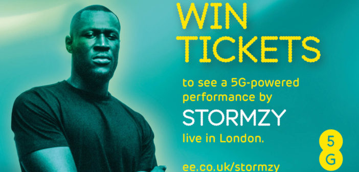 Countdown is on: EE to make history as UK's first 5G network with exclusive performance by stormzy