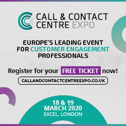 Call and Contact Centre Expo Ad