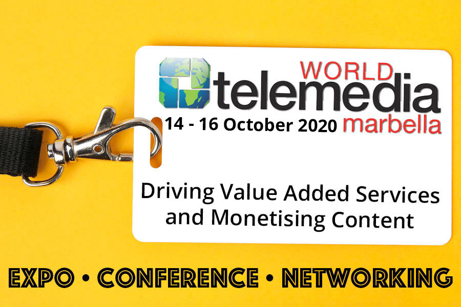 Meet me at World Telemedia 2020