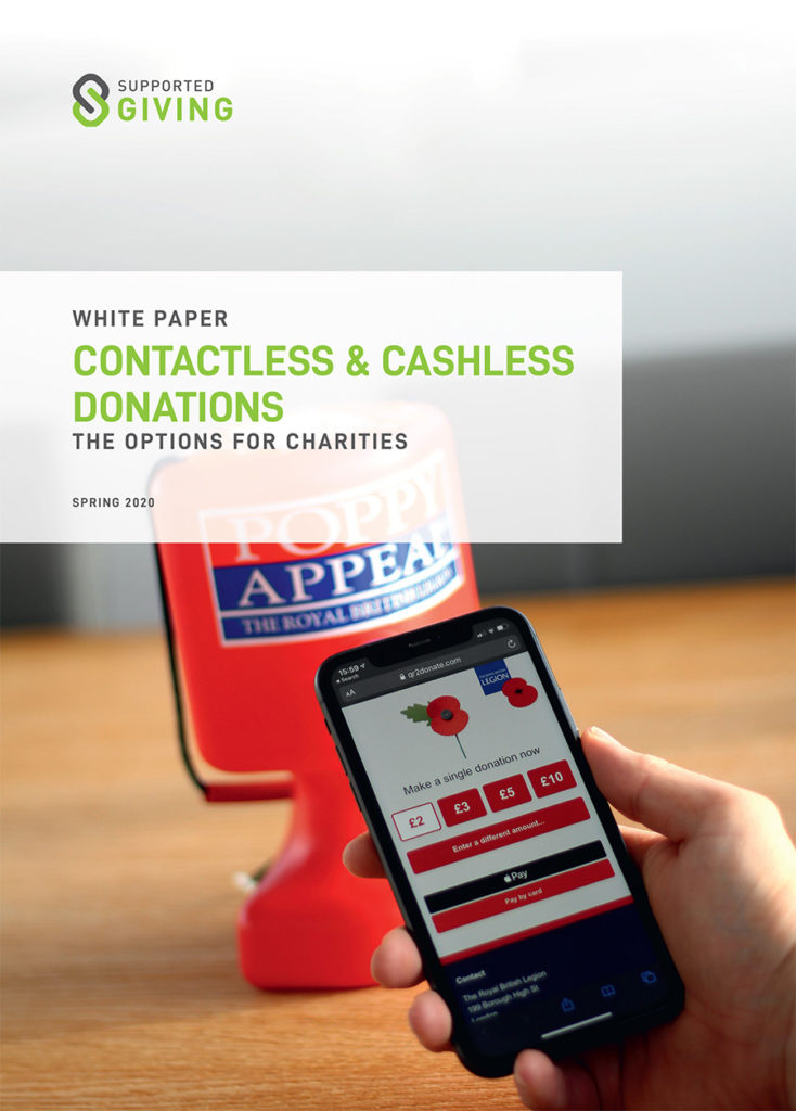 Contactless & Cashless Donations - The options for Charities