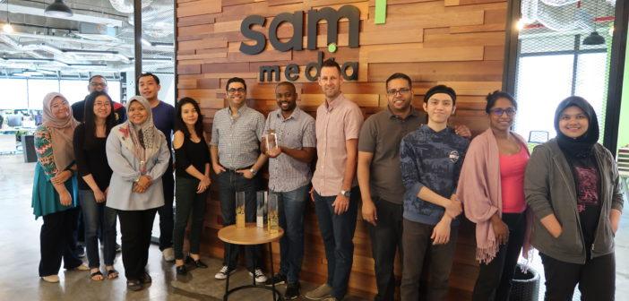 Dutch digital innovator Sam Media wins Meffy Award with VR streaming service Mobio360